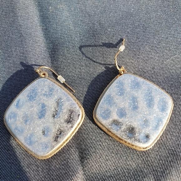 Jewelry - Two tone gold/silver earrings